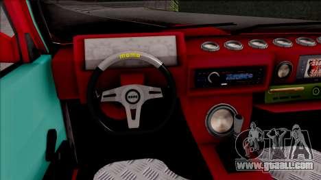 Tofas Dogan Bass Sistemi for GTA San Andreas inner view