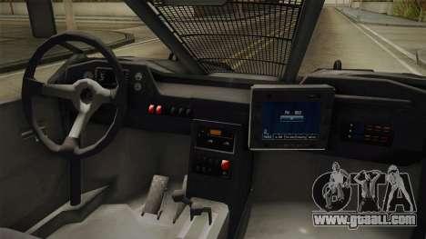Ghost Recon Wildlands - Unidad AMV No Minigun v2 for GTA San Andreas inner view