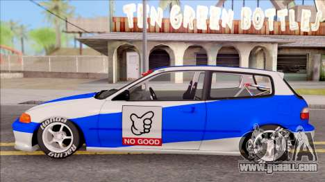 Honda Civic EG Kanjo for GTA San Andreas left view