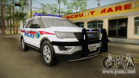 Ford Explorer 2016 YRP for GTA San Andreas