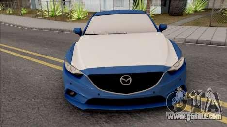 Mazda 6 Standard 2015 for GTA San Andreas inner view
