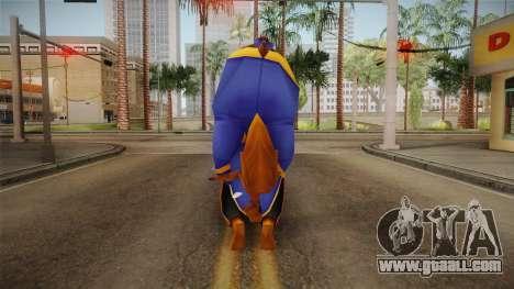 Beauty and the Beast - Beast Formal for GTA San Andreas third screenshot