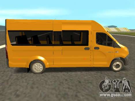 GAS-A65R35 GAZelle NEXT Bus for GTA San Andreas left view