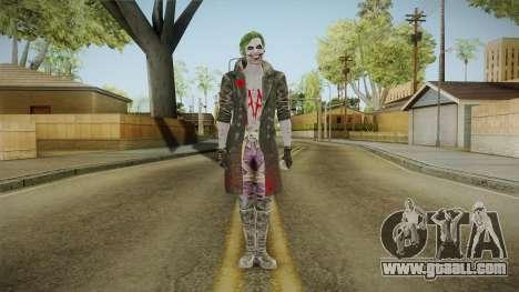 Joker from Injustice 2 for GTA San Andreas second screenshot