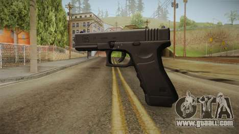 Glock 17 3 Dot Sight Blue for GTA San Andreas second screenshot
