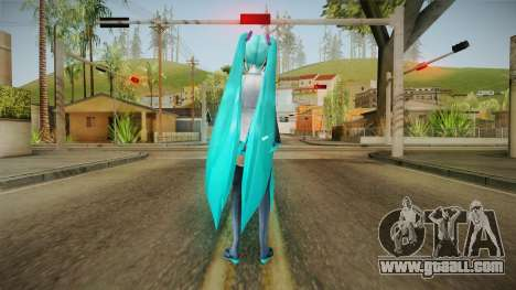 Miku HD Skin for GTA San Andreas third screenshot