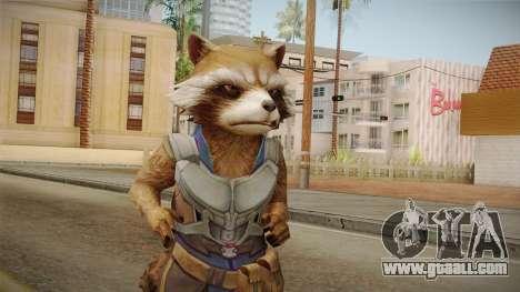 Marvel Future Fight - Rocket Raccon (GOTG Vol 2) for GTA San Andreas