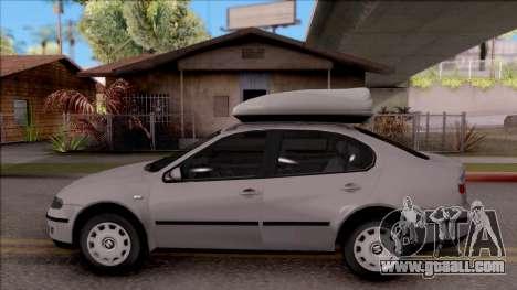 Seat Toledo 1.9 TDi for GTA San Andreas left view