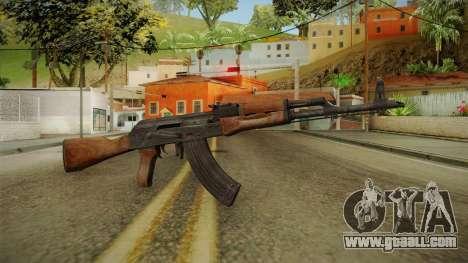 AKM Assault Rifle v1 for GTA San Andreas