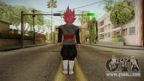 DBX2 - Goku Black SSJR v2 for GTA San Andreas third screenshot