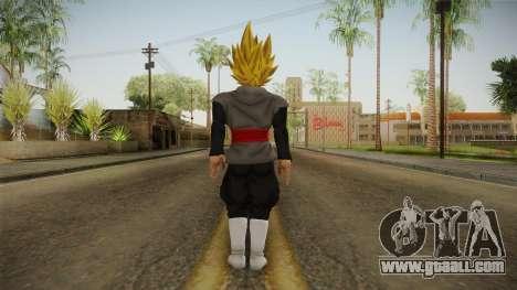 DBX2 - Goku Black SSJ2 v2 for GTA San Andreas third screenshot