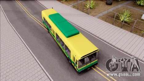 GTA V Brute Bus for GTA San Andreas right view