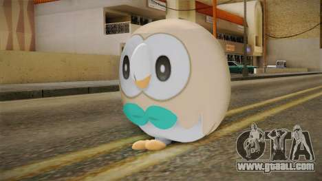 Pokémon SM - Rowlet for GTA San Andreas