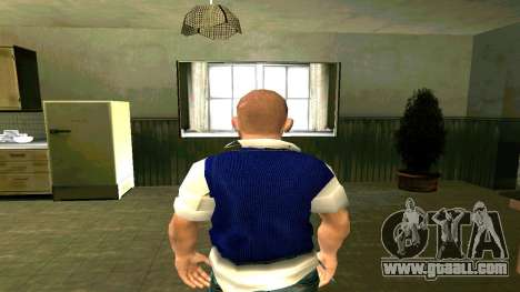Skin HD Jimmy Hopkins (Bully) for GTA San Andreas forth screenshot