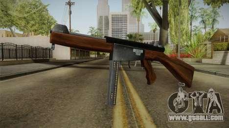 Ingram Model 6 SMG for GTA San Andreas