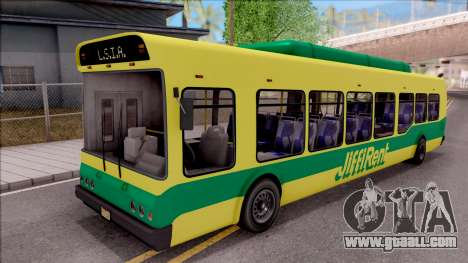 GTA V Brute Bus for GTA San Andreas