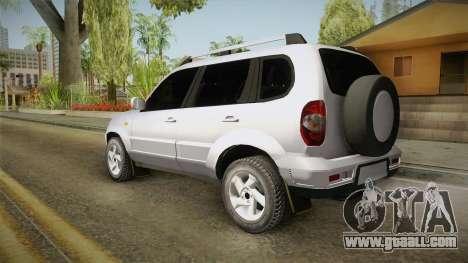 Chevrolet Vitara for GTA San Andreas left view
