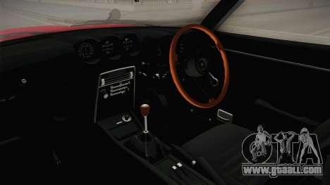 Nissan Fairlady Z 432 Rocket Bunny for GTA San Andreas inner view