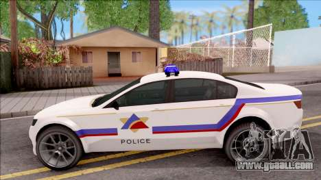 Cheval Fugitive Hometown PD 2012 for GTA San Andreas left view