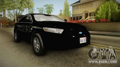 Ford Taurus Stealth 2016 YRP for GTA San Andreas