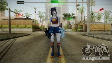 Cheer Captain Kerrigan v4 for GTA San Andreas second screenshot