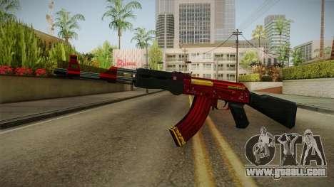 CF AK-47 v6 for GTA San Andreas second screenshot