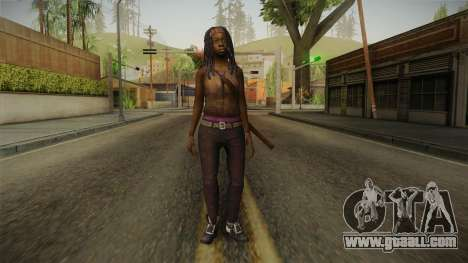 The Walking Dead: No Mans Land - Michonne for GTA San Andreas second screenshot