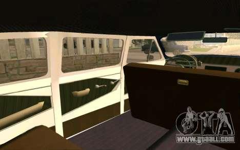GAZ 21 Limousine v2.0 for GTA San Andreas upper view