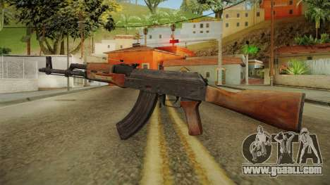 AKM Assault Rifle v1 for GTA San Andreas second screenshot
