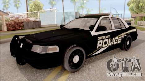 Ford Crown Victoria Central City Police for GTA San Andreas