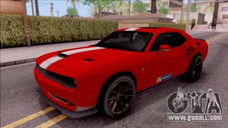 Dodge Challenger Hellcat Consept for GTA San Andreas