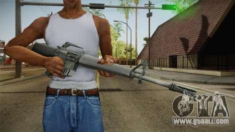 M16 Assault Rifle for GTA San Andreas third screenshot