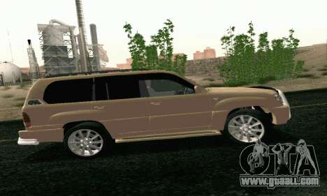 LEXUS LX470 Exclusive for GTA San Andreas left view