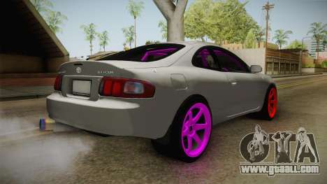 Toyota Celica GT Drift Monster Energy for GTA San Andreas back left view