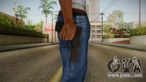 Glock 17 Blank Sight for GTA San Andreas