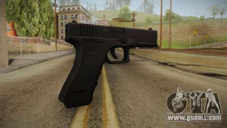 Glock 18 Blank Sight for GTA San Andreas second screenshot