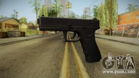 Glock 18 3 Dot Sight for GTA San Andreas