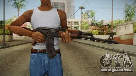 GTA 5 Gunrunning AK47 for GTA San Andreas third screenshot