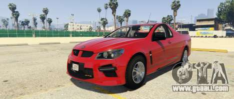 HSV Limited Edition GTS Maloo for GTA 5
