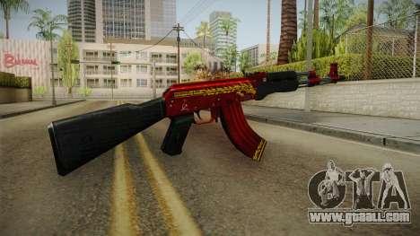 CF AK-47 v6 for GTA San Andreas third screenshot