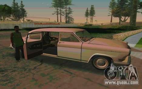 GAZ 21 Limousine v2.0 for GTA San Andreas back view
