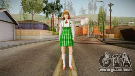 Beatrice Trudeau from Bully Scholarship for GTA San Andreas second screenshot
