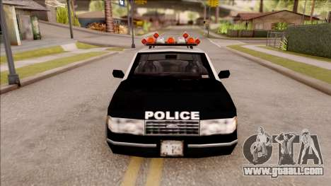 Police Car from GTA 3 for GTA San Andreas inner view