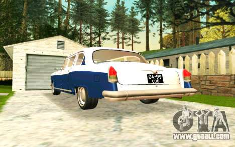 GAZ 21 Limousine v2.0 for GTA San Andreas right view