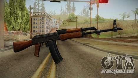 AKM Assault Rifle v2 for GTA San Andreas second screenshot