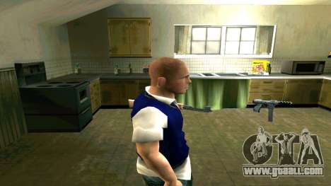 Skin HD Jimmy Hopkins (Bully) for GTA San Andreas second screenshot