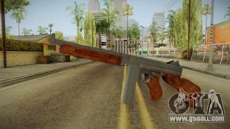 Thompson M1A1 for GTA San Andreas