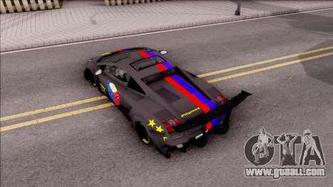 Lamborghini Gallardo Philippines v2 for GTA San Andreas back view