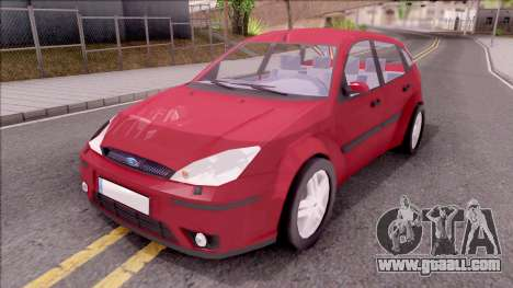 Ford Focus Hatchback for GTA San Andreas