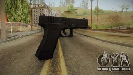 Glock 18 3 Dot Sight Blue for GTA San Andreas second screenshot